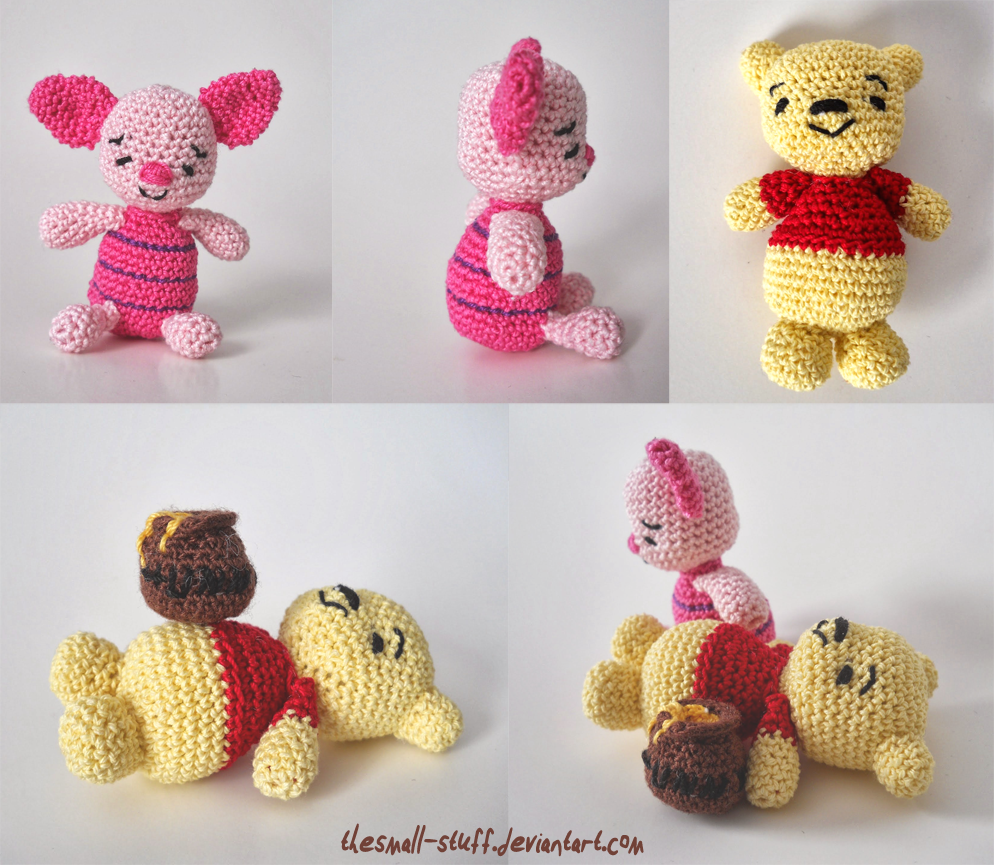 Winnie the Pooh and Piglet by TheSmall-Stuff.deviantart.com on ...