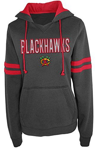 NHL Chicago Blackhawks Pullover Hood with Contra, Small SECTION 101 by Majestic