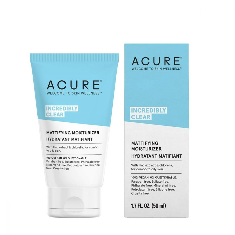 Acure Incredibly Clear Oil Mattifying Moisturizer 1.7oz