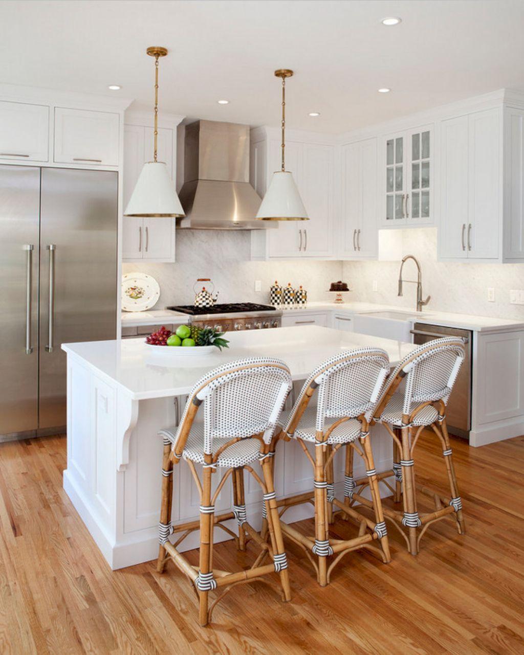 simple and minimalist small white kitchen ideas small white