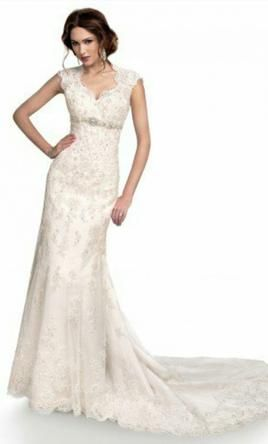 Maggie Sottero Bernadette J1399 Wedding Dress Curly For At 41 Off Retail