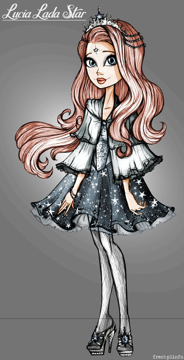 Lucia Lada Star Ever After High Oc By Freshplinfa Ivy On