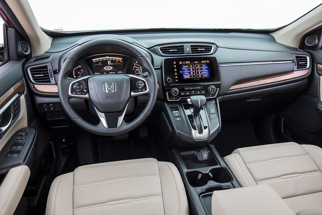 2019 Honda Cr V New Car Review Honda Crv Interior Honda Crv Touring Honda Cr
