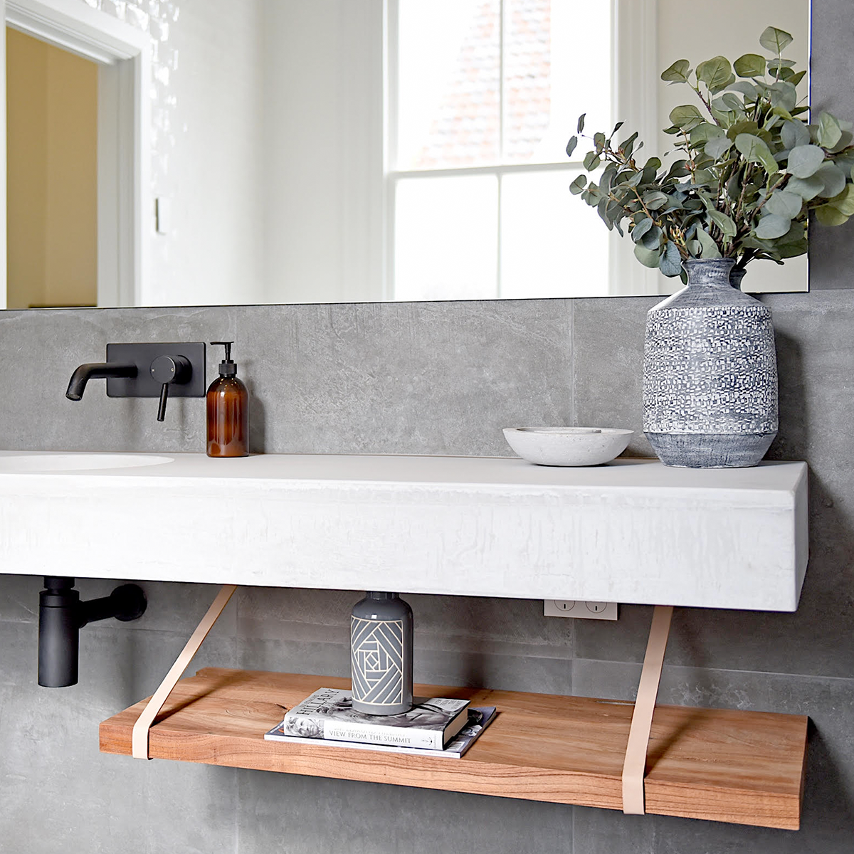 Concrete Studio | Floating vanity, Floating bathroom ...