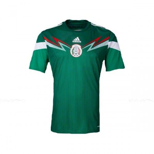 Adidas Mexico 2014 Home Authentic Jersey Jersey Shirts Mexico Team