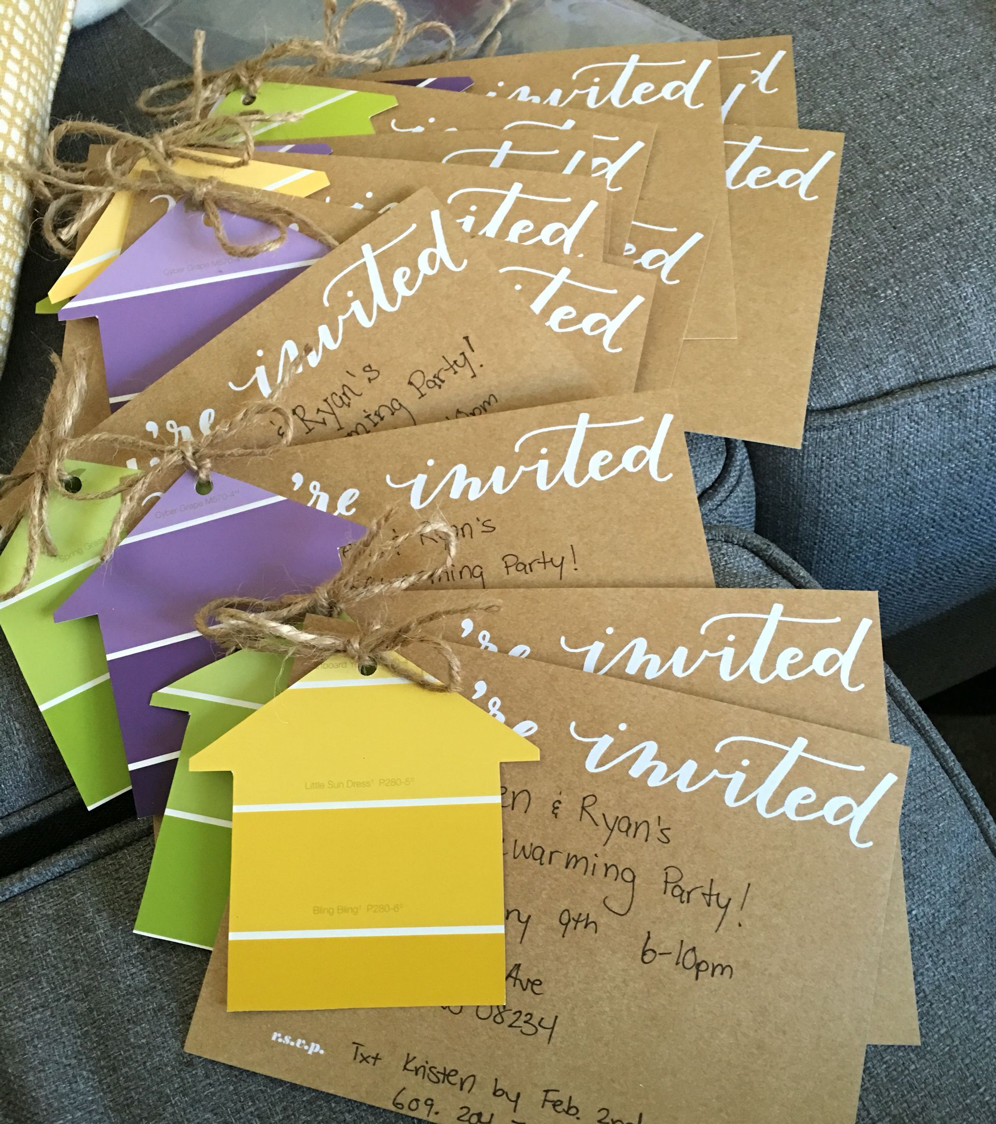 Our Housewarming Invitations