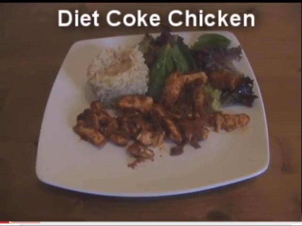 Diet Coke Chicken #myvirginkitchen