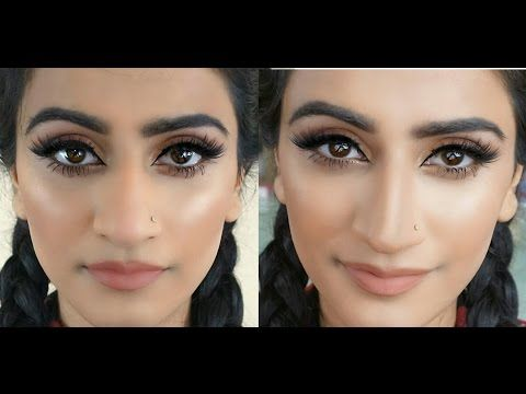 How to Contour A Big Nose | Make your Nose appear Thinner and ...