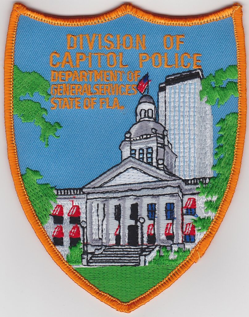Florida Capital Police Police, Police patches, Military