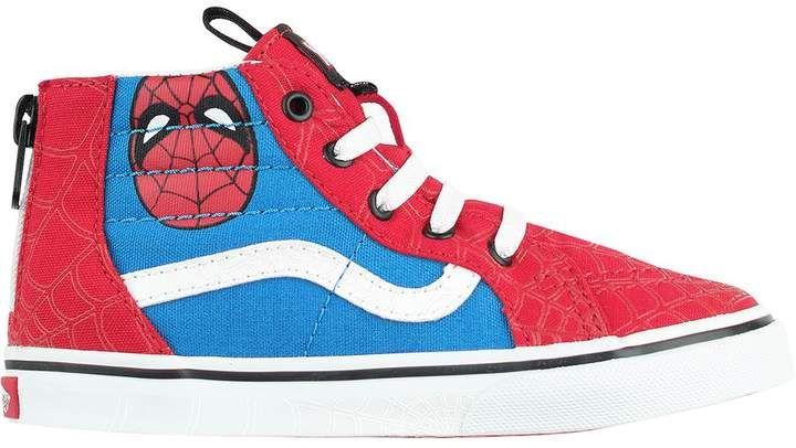cb247af33e8 Vans x Marvel SK8-Hi Zip Shoe - Toddler and Infants