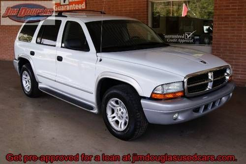 2003 Dodge Durango SLT - White - My husband, Fred loved Dodge. Since I'd been in 7 rear-end collisions, he said this would the perfect car for me. This car was very well made, ( safe like a tank ), but luxuriously and handled really well. I enjoyed driving such a wonderful car.