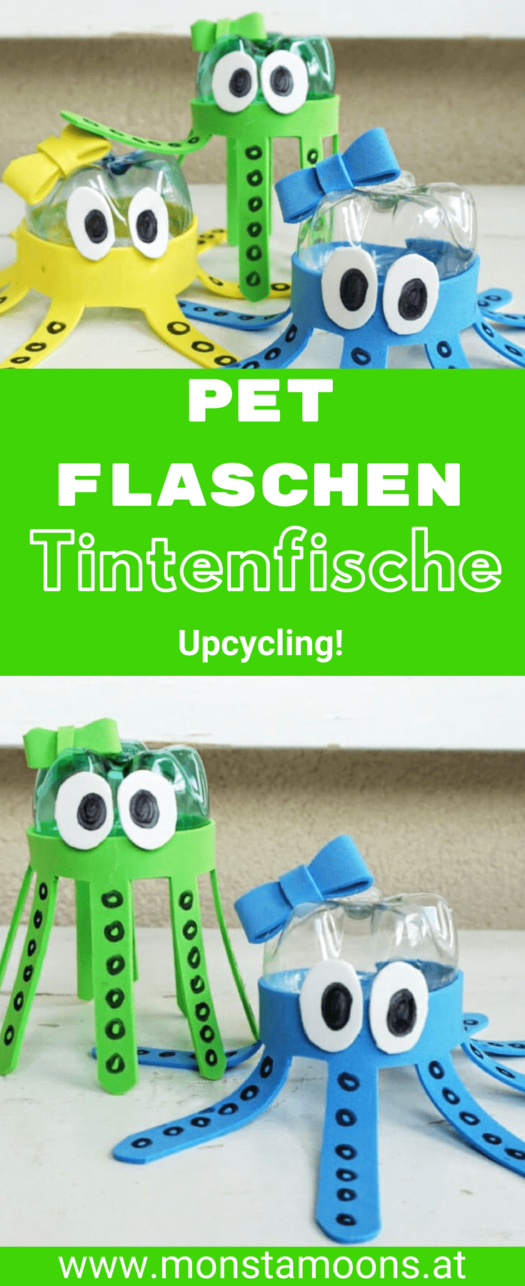 Bastelideen Pet Flaschen Upcycling Tasse Aus Pet Flasche Kreativ
