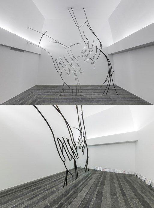 Fragment installation by Anna Zvyagintseva