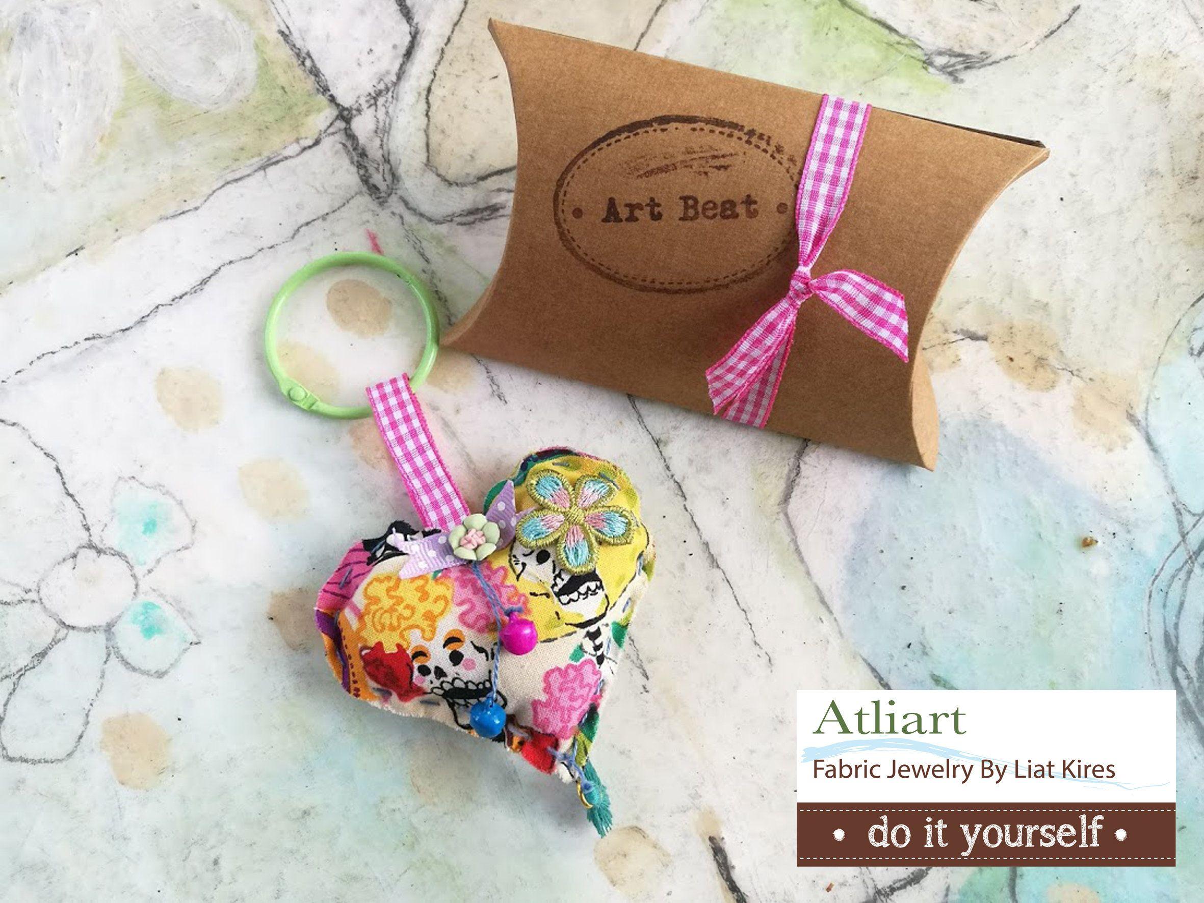 DIY Felt Hearts Ornaments Craft Kit Birthday Gift Ideas