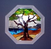 Octagon Stained Gl Window Inserts