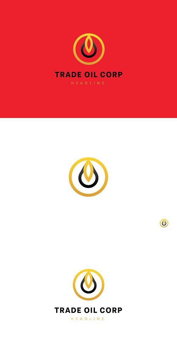 Trade oil corp logo template | Logo templates ...