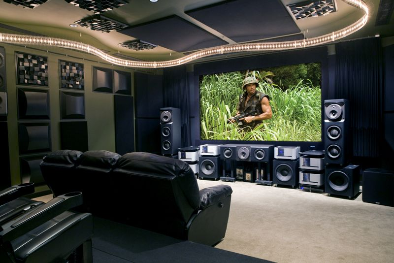 Home Theathers | Custom Home Theater | Audio Video | Surround Sound | HDTV  | Palm