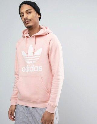 Pullover Adidas Logo Pink Trefoil In Bq5411 Hoodie FKJc1Tl