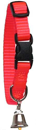 Sandia Pet Products 38 REGULAR Blaze Orange Ferret Collar with Bell  Adjustable 6 to 8 Inches * You can find more details by visiting the image link.Note:It is affiliate link to Amazon.