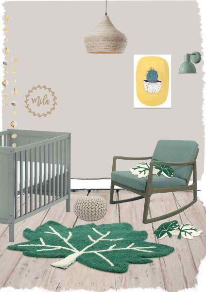 KinderTeppich Little Fall Teppich design, Schlafzimmer
