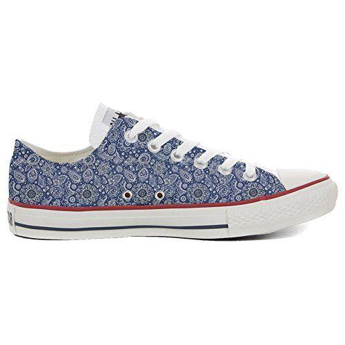 Converse All Star Low Customized personalisierte slim Schuhe (Handwerk  Produkt) Arabesque - http: