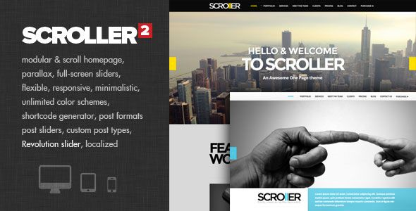 Scroller v2.0 – Parallax, Scroll