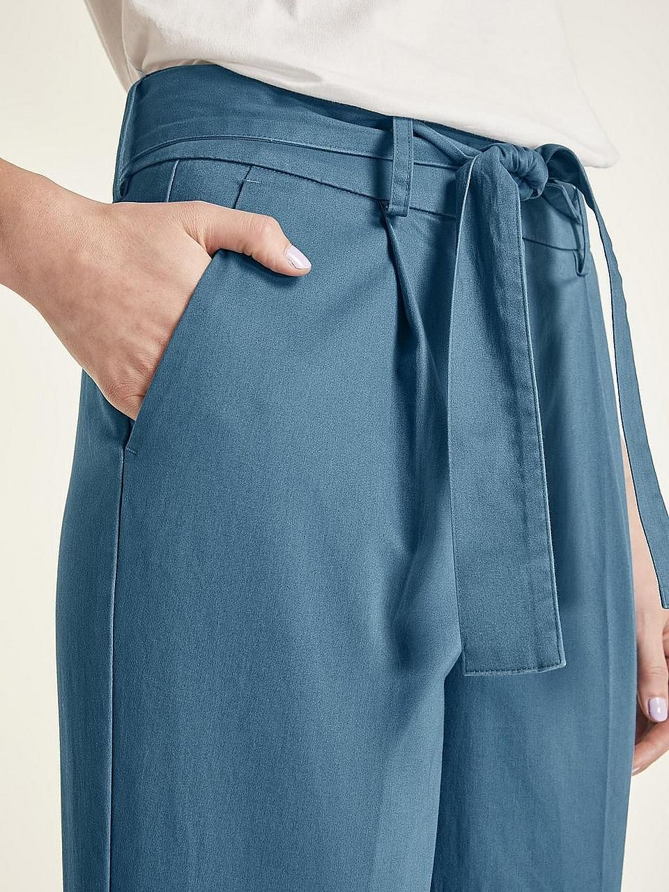 211e41a323c heine STYLE Hose in angesgter High-Waist-Form Business Outfits  Lass dich  von
