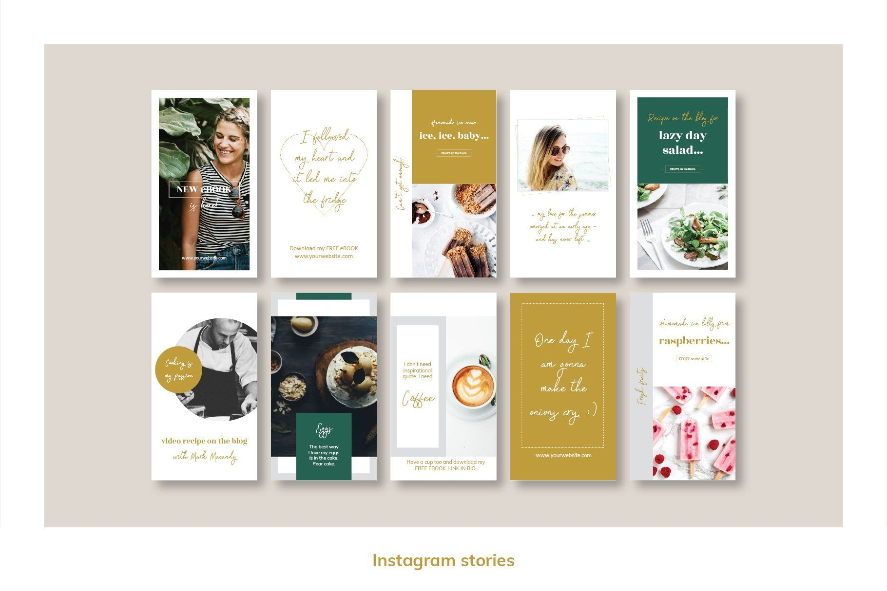 Animated Instagram Pack Powerpoint By Mirazz On
