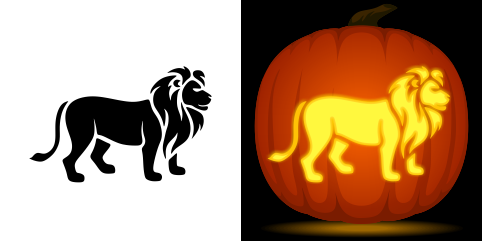 pin by muse printables on pumpkin carving stencils pumpkin stencil rh pinterest com detroit lions pumpkin carving patterns