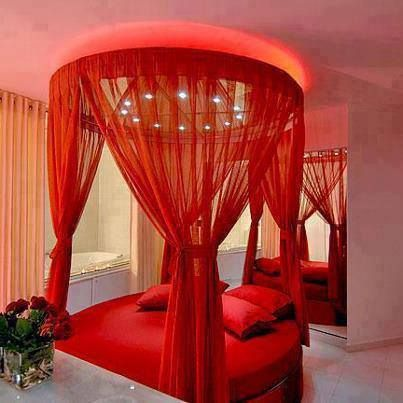 45 Ravishing Red Rooms | Valentine bedroom decor, Bedroom ...