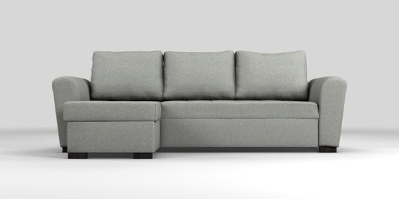 Next Quentin Sofa Bed Review Chaise Lounge Sectional Buy Universal Corner Storage Sofabed 4 Seats Tweedy Blend Mid Grey Dark From
