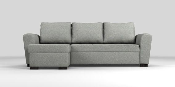 Buy Quentin Universal Corner Storage Sofabed 4 Seats Tweedy Blend