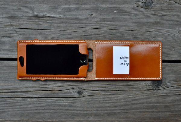 iphone 6s leather cover classic + custom : S&Mな日々