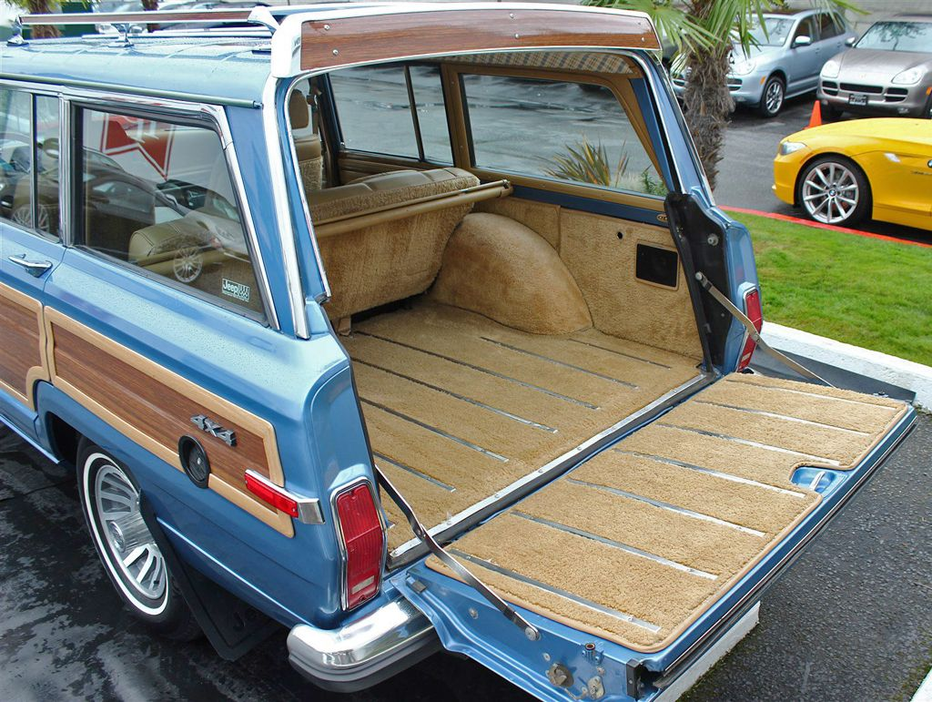 1988 Jeep Grand Wagoneer Rear Cargo Area Jeep Wagoneer Jeep