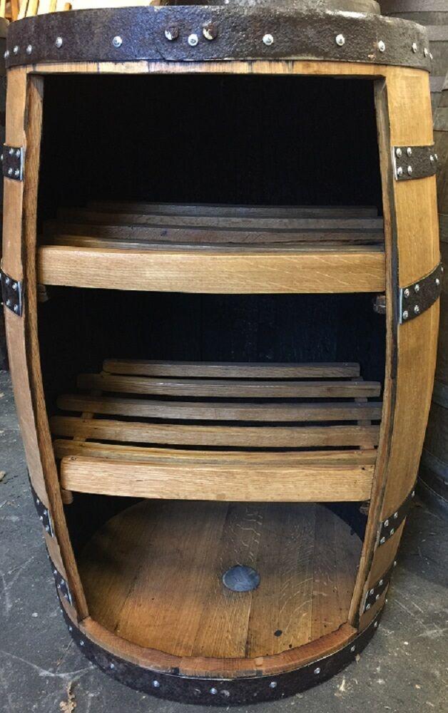 """Solid Wooden Vintage Oak Whisky Barrel """"Corkess"""" Display ..."""