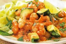 Indian Prawn Curry With Cardamom Cabbage Recipes