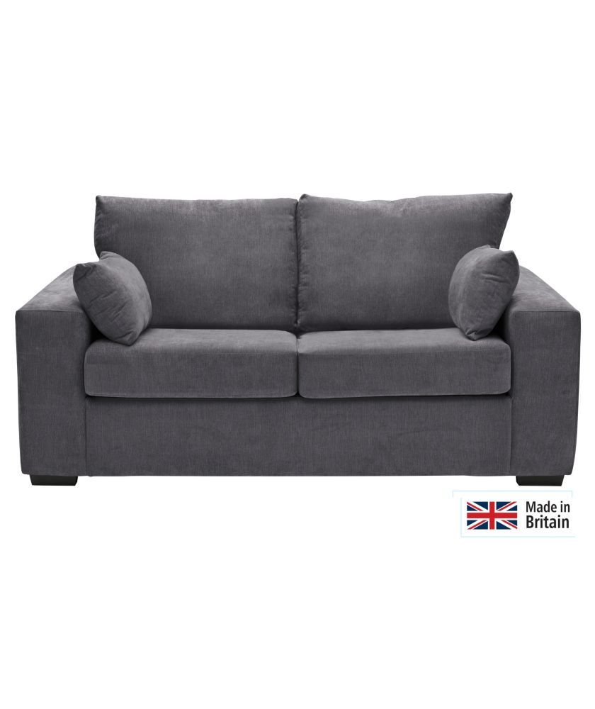Heart Of House Eton Fabric Sofa Bed Charcoal At Argos Co Uk
