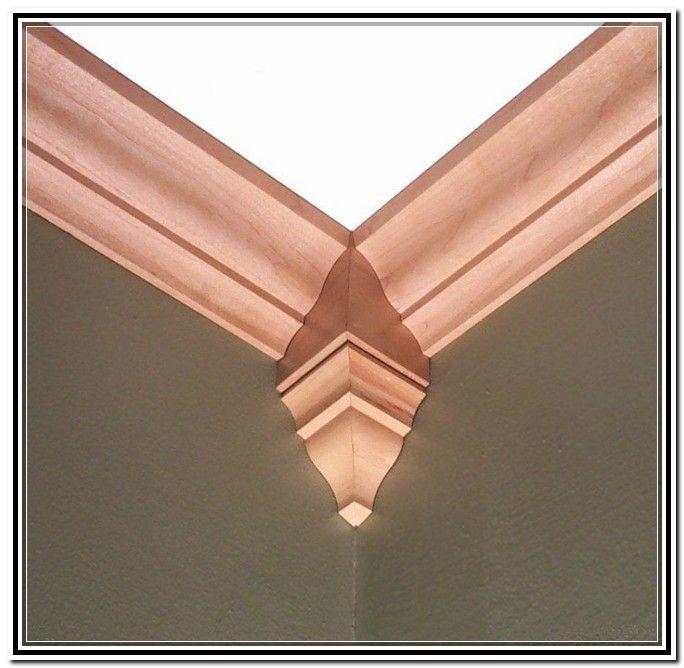 Oak Crown Molding Corner Blocks Crown Molding Diy Crown Molding Room And Board Furniture