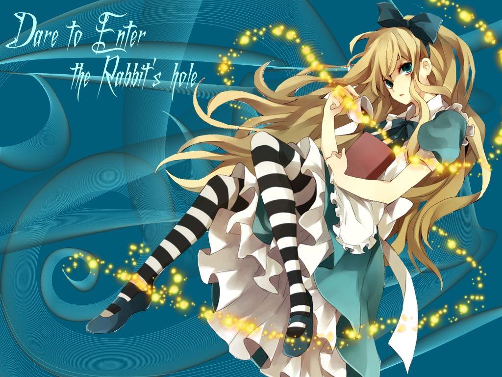 Alice in Wonderland Wallpaper Anime Girls Wallpaper