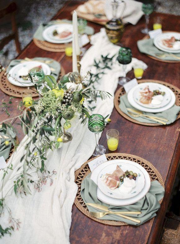 Romantic Tuscan Wedding Inspiration