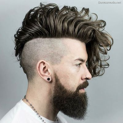Peinado De Moda Para Hombre Peinados De Moda Tendencias De Moda De Moda