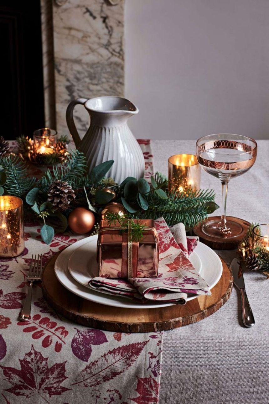 Tavola Per Natale Foto la tavola di natale e delle feste: idee per apparecchiare e