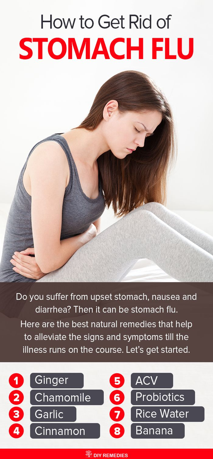 How to get rid of a stomach virus at home