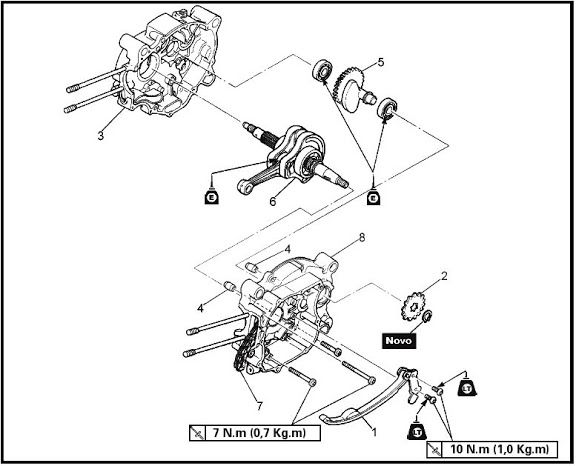 Yamaha Crypton T105