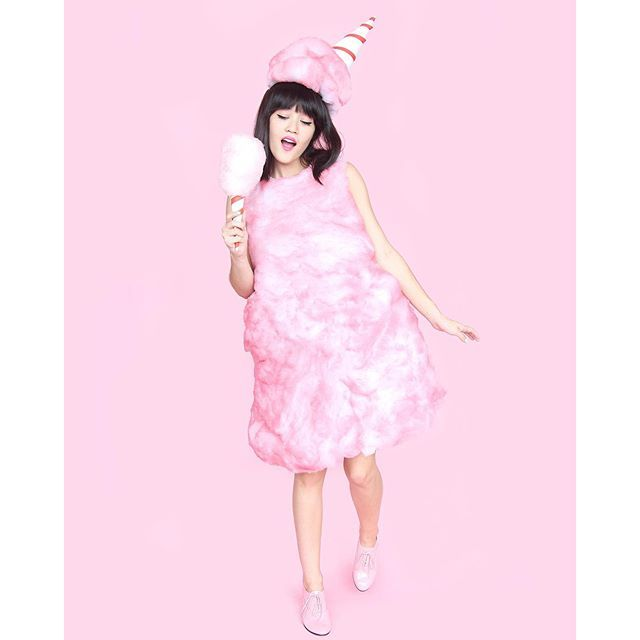 Cotton Candy Cotton candy - food halloween costume ideas