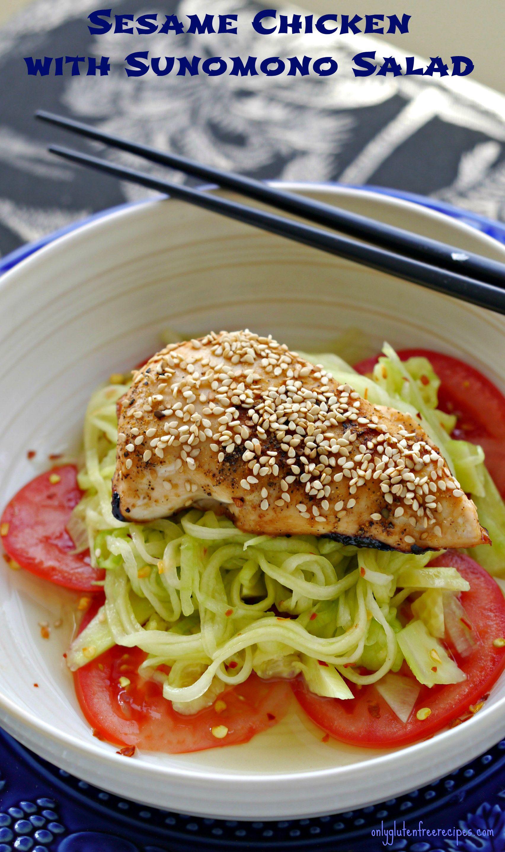 Asian low calorie salads