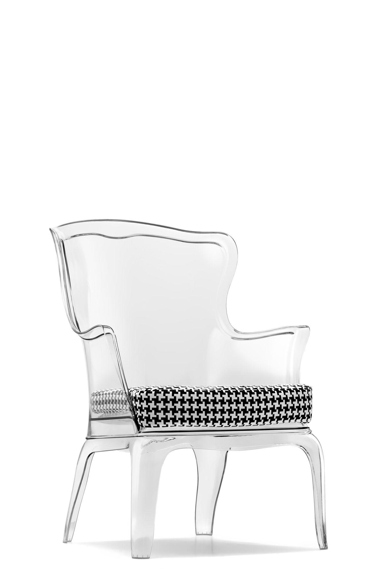 Elegante Acryl Sessel | Coole stühle, Bequeme stühle und Stühle