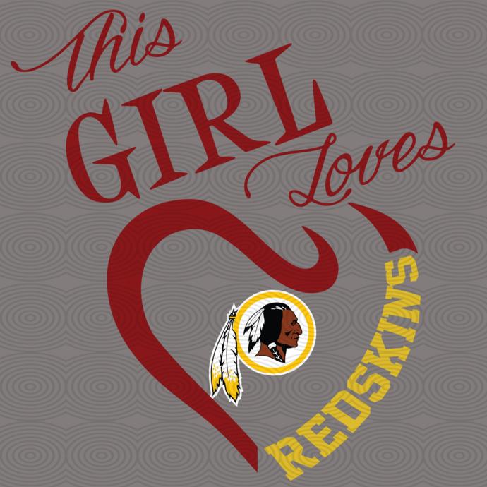 This girl loves my Washington Redskins,Washington Redskins