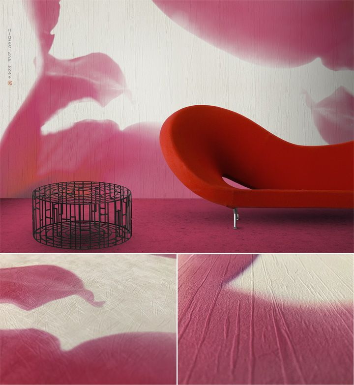 Creative wallpapers: Petals from Tokyo by N.O.W. Edizioni