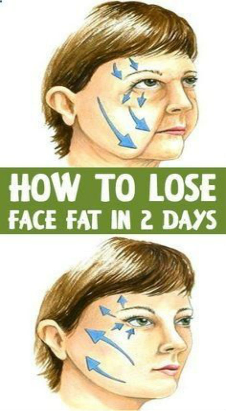 7 Proven Exercises to Lose Face Fat In 2 Days - Daily Rumors